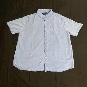 Nat Nast Luxury American Fit S/S Button Down XL